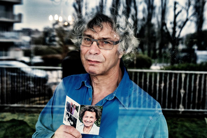 Serge Deruette verloor zijn moeder Mariette Leclef. Beeld Tim Dirven