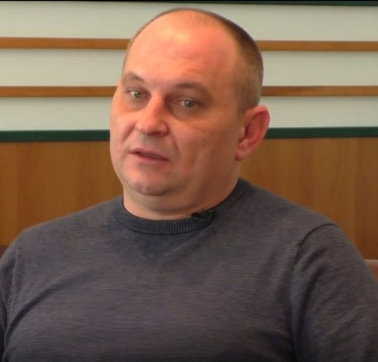 Leonid Volodomyrovych Kharchenko. Beeld ANP Handouts
