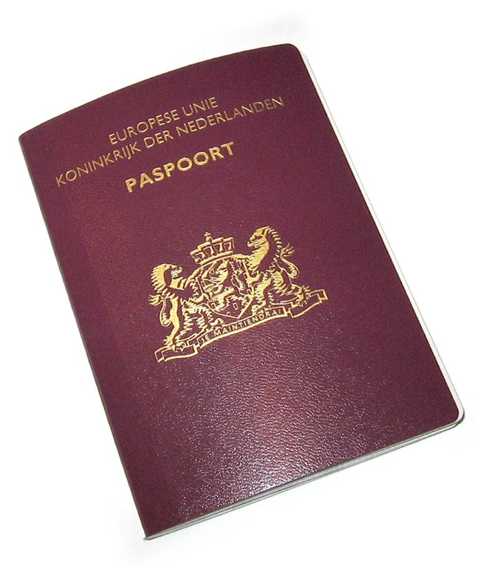 Nederlands paspoort, ter illustratie.