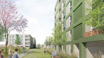 Buurtpark Pennepoel breidt uit dankzij nieuwbouwproject Woonpunt