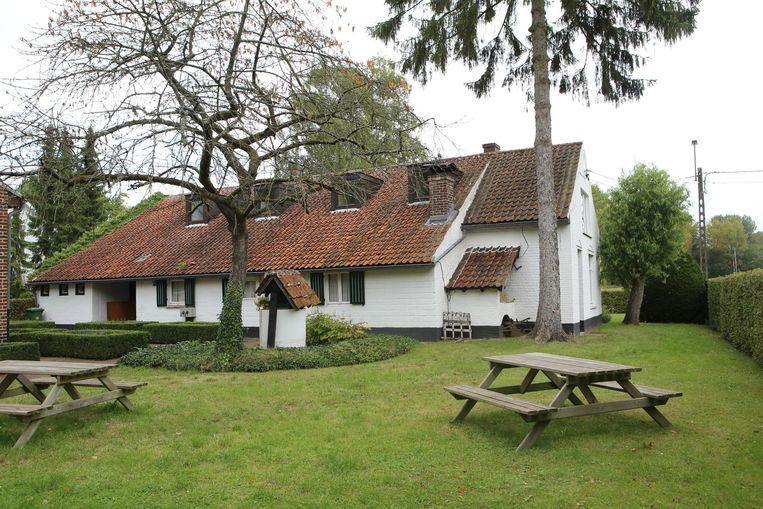 De tuin van Huize Ernest Claes.