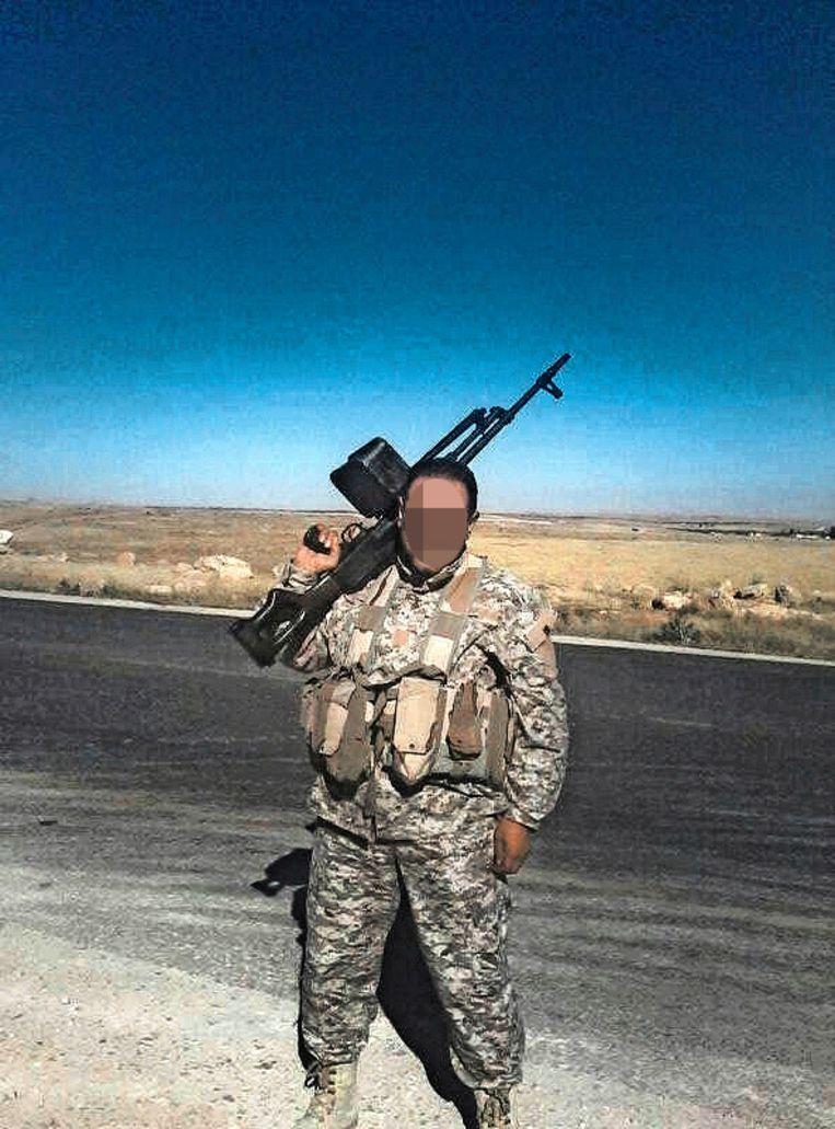 Hosen K. zou deel uitmaken van dezelfde militie als Hossin A. en zich eveneens in België bevinden. Beeld rv