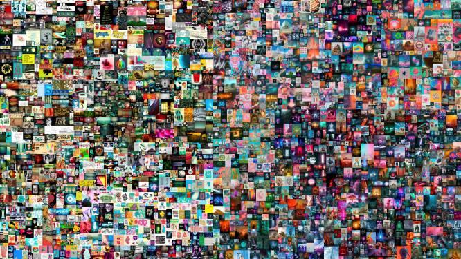 Digitaal kunstwerk geveild voor recordbedrag van 58 miljoen euro