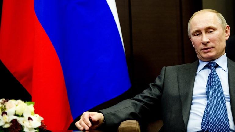 President Poetin.