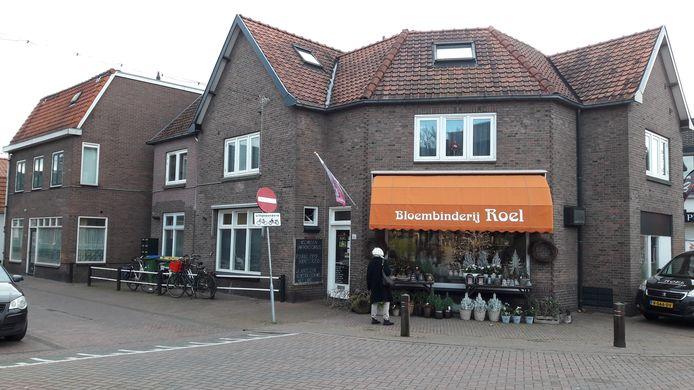 De bloemenwinkel in De Bospoort.