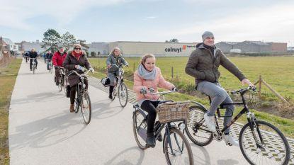 Nieuw pad houdt fietsers weg van Steensedijk