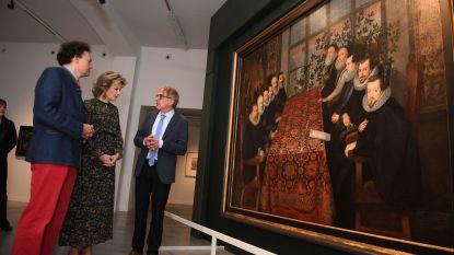 Koningin Mathilde bezoekt M-museum