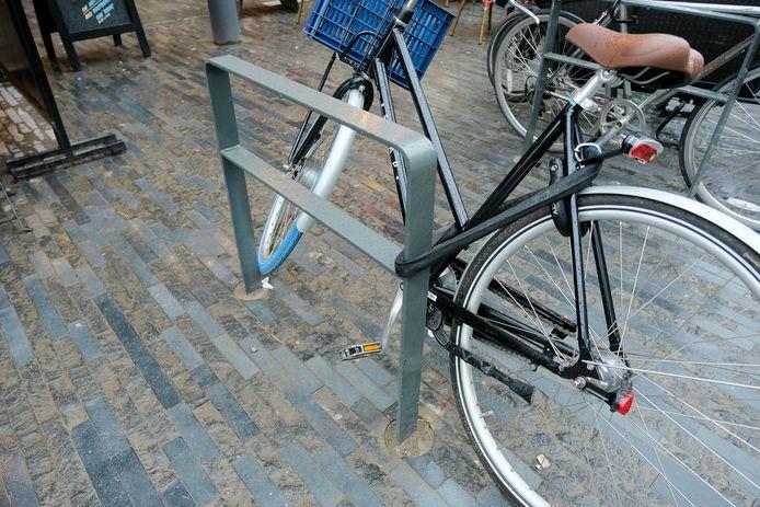 De fietsnietjes zien er zo uit. (illustratiebeeld)