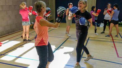 VUB organiseert eerste boksles door en voor vrouwen