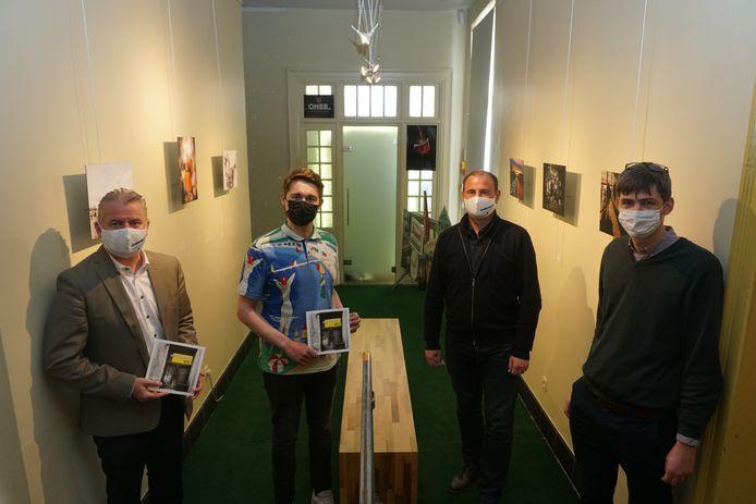 Vlnr.: Anthony Dumarey, Miguel Boterman, Gino Dumon en Stijn Jonckheere.