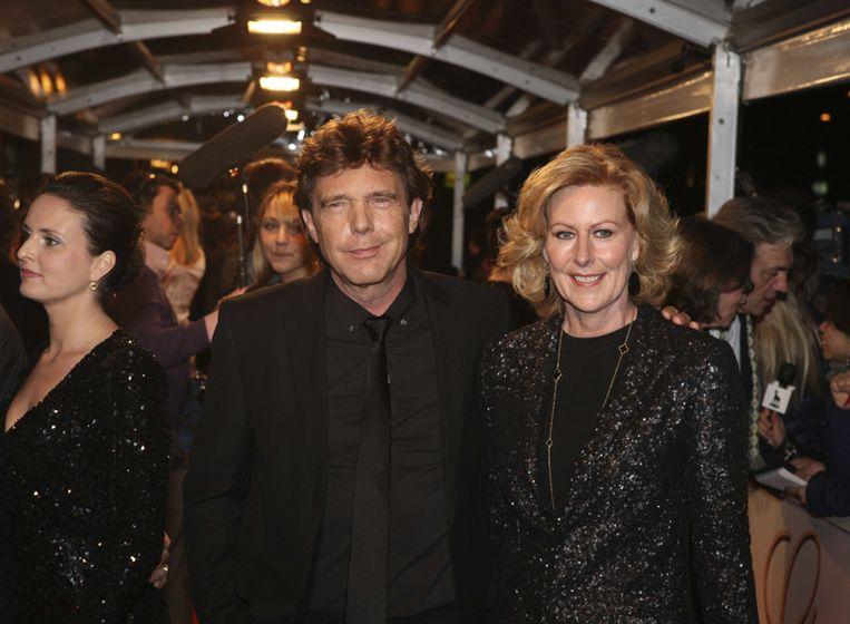 John de Mol en zijn vrouw<br /> Beeld