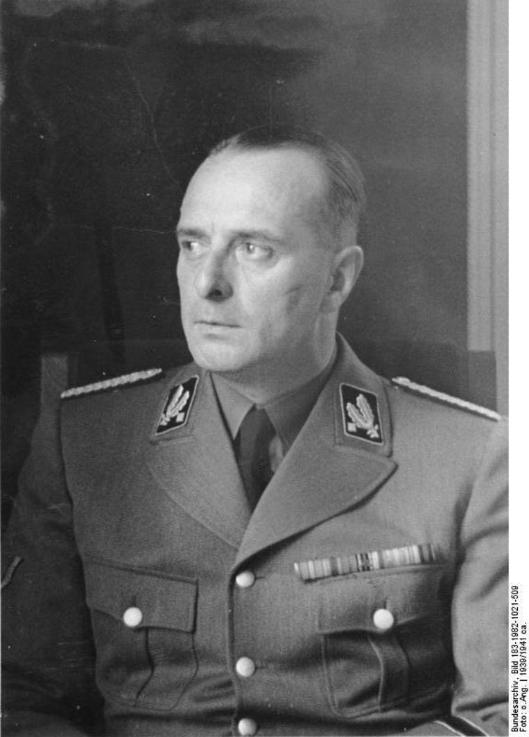 Hanns Albin Rauter. Beeld Bundesarchiv