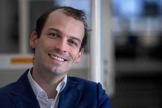 De Eindhovense wethouder Stijn Steenbakkers (CDA) .