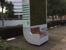 Tech-bomen voor schone lucht in Valkenburgerstraat