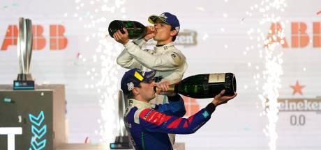 Nyck de Vries pakt in Londen de WK-leiding in de Formule E