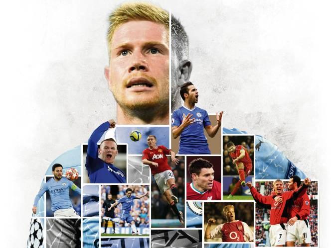 Voorzetten van Beckham, vista van Gerrard, techniek van Scholes...: de hybride De Bruyne, mix van het beste wat er is