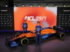 Norris en Ricciardo presenteren nieuwe bolide McLaren: 'Nog scherper om goed te presteren'