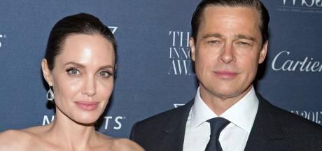 'Angelina Jolie en Brad Pitt ontmoeten elkaar in geheim'