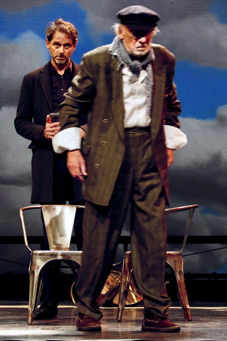 Vader en zoon Croiset. Beeld Marieke Timp