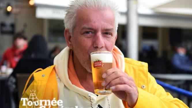 """VIDEO Dubbel feest voor Chris Durinckx (53) uit Leuven: """"Aan de dood ontsnapt en terrassen weer open. Dat vraagt om een kleine kroegentocht"""""""