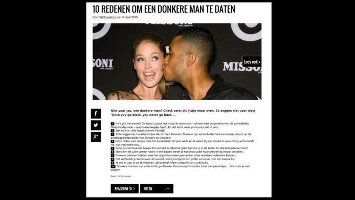 Het beruchte lijstje op viva.nl