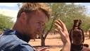 Ben Roelants in Namibië.