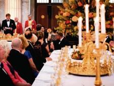 Zalmtompouce en champagne: Bossche Jeroen Konings mocht dineren met jarige koning Willem-Alexander