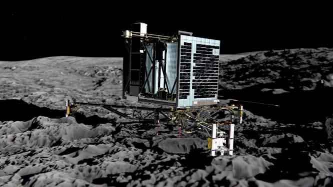 Verloren gewaande ruimterobot Philae gelokaliseerd