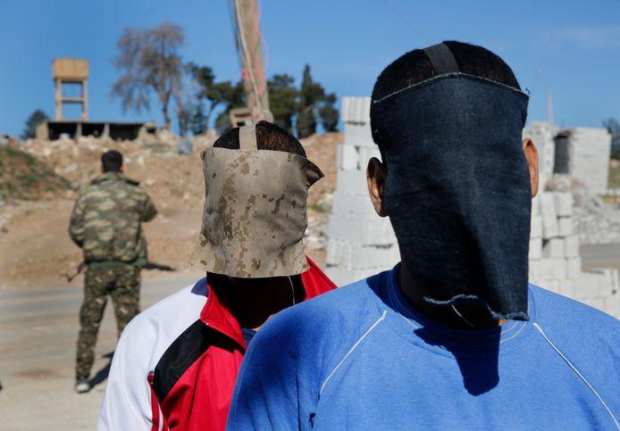Alexanda Amon Kotey et El Shafee el-Sheikh étaient détenus par les forces kurdes en Syrie.