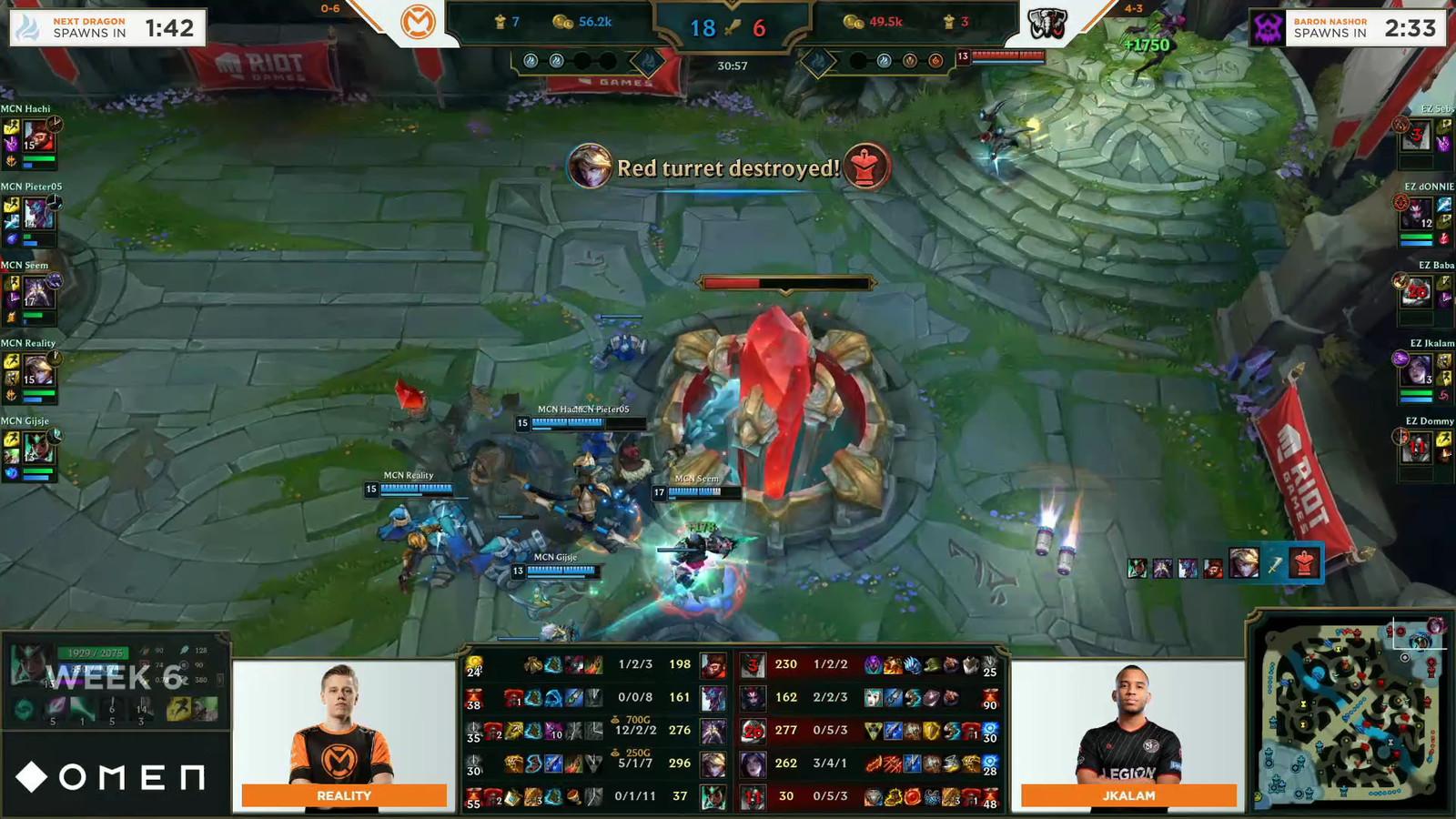 Het is mCon esports Rotterdam eindelijk gelukt om een wedstrijd in de Dutch League te winnen. In speelronde 6 verslaan de Echo Zulu.