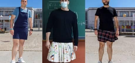 Pourquoi ces professeurs espagnols portent une jupe en classe