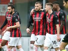 Zlatan-loos Milan boekt moeizame zege op Genoa