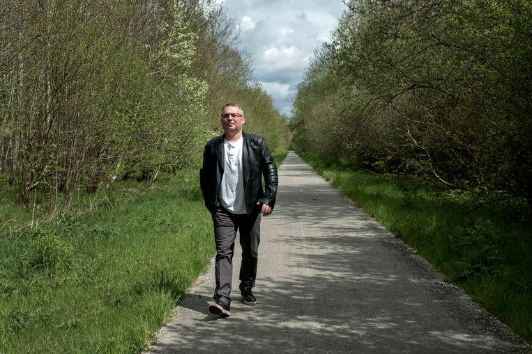 Marcin, een arbeidsmigrant uit Polen. Beeld Merlin Daleman