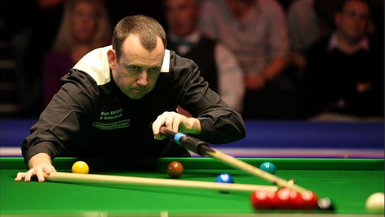 Mark Williams, tweevoudig winnaar van het UK Championship snooker. Beeld PHOTO_NEWS