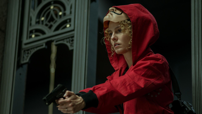 Esther Acebo als Mónica Gaztambide in 'La Casa de papel'. Beeld Netflix