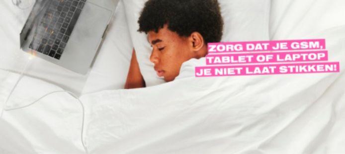 Deel van een affiche van de nieuwe campagne.