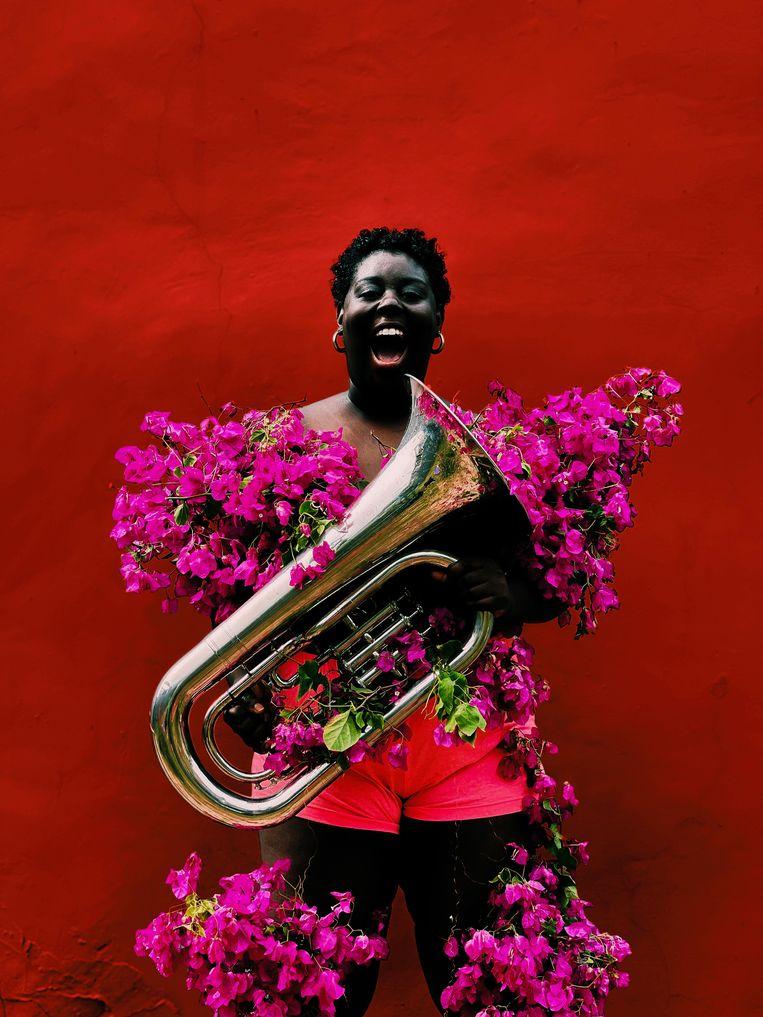 Music makes the pain fade Beeld Derrick Ofosu Boateng