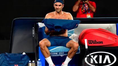 Federer naar huis, Roland Garros op het programma