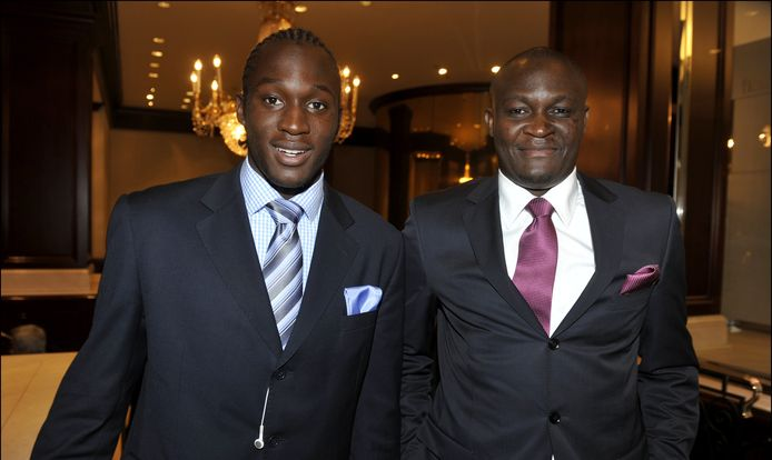 Roger en Romelu Lukaku.