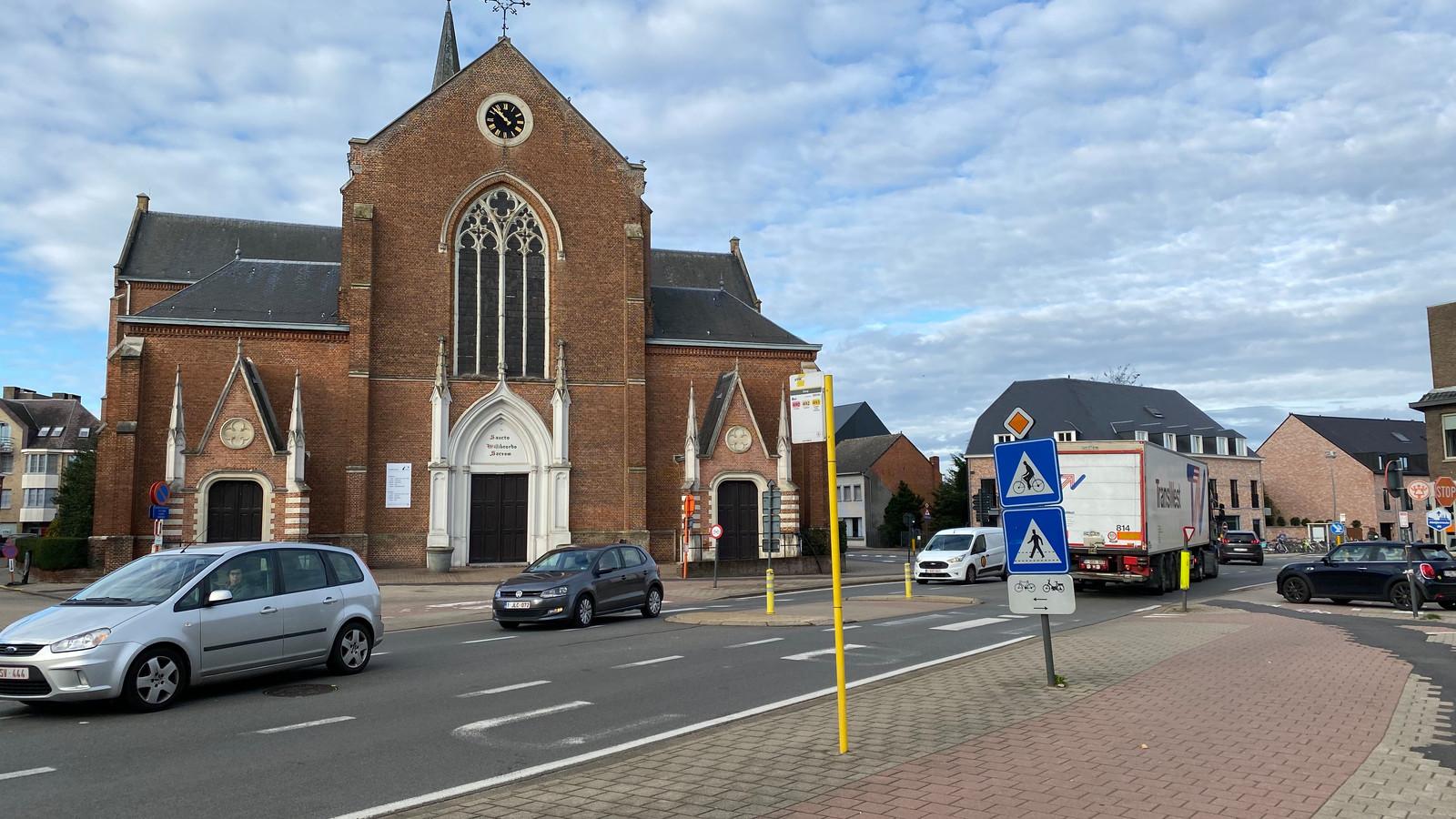 Ook op de Turnhoutsebaan zal gewerkt worden. Onder meer de bushalte zal in de toekomst verhuizen