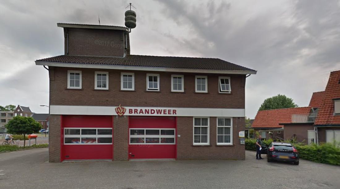 De huidige brandweerkazerne van Renswoude.