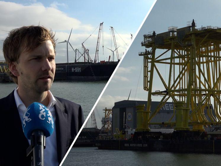 Heerema levert onderstel voor stopcontact op zee