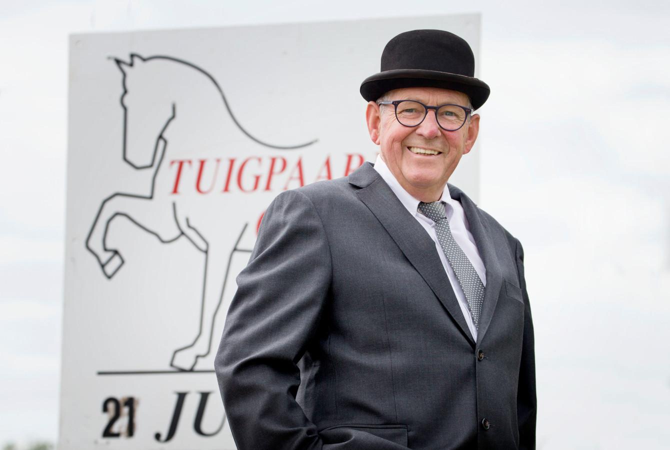 Hoofdringmeester Nico van den Buys.