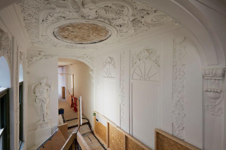 De oude vertrekken lenen zich bij uitstek om de geschiedenis van het museum uit de doeken doen. Beeld Studio Johan Nieuwenhuize