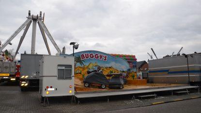 Attracties voor carnavalskermis staan al klaar