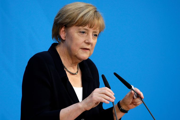 De Duitse bondskanselier Angela Merkel. Beeld ap