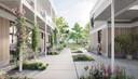 Zo moet het woonproject er uitzien. Met veel groen en open ruimte als belangrijke troef.