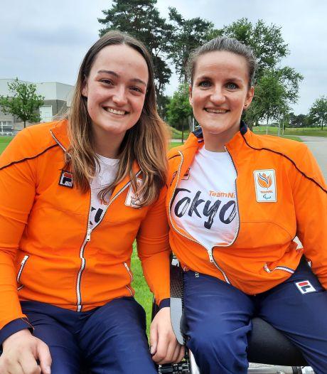 Oranje rolstoelbasketbalsters laten tranen bij lijflied 'Up' dat hen begeleidt naar Tokio. 'Dit past zo goed bij ons'