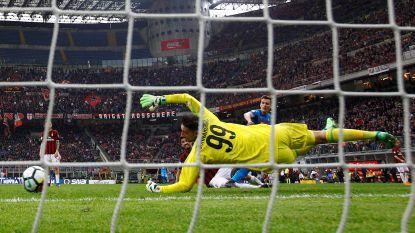Zo pak je als doelman punten: Donnarumma behoedt Milan in extra tijd van nederlaag met deze waanzinnige redding