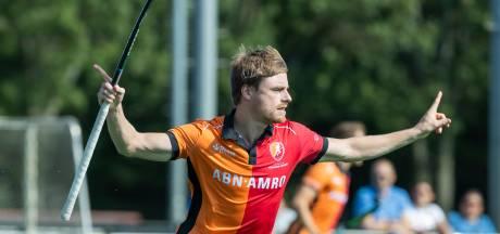 De Natris met twee goals goud waard voor Oranje-Rood